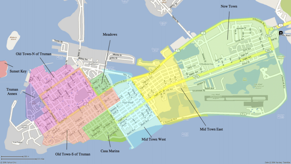 Key West By Area